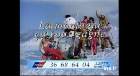 La montagne ca vous gagne publicité 90 ina archive vieille pub france alpes