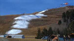 courchevel-manque-neige-hiver 2006 2007 crise stations ski