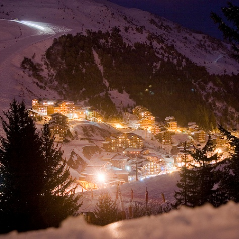 Meribel Savoie france