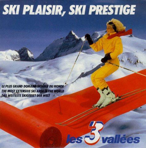 Ski Plaisir, ski prestige @meribel  Méribel, Coeur des 3 Vallées (Official) publicité des 90'