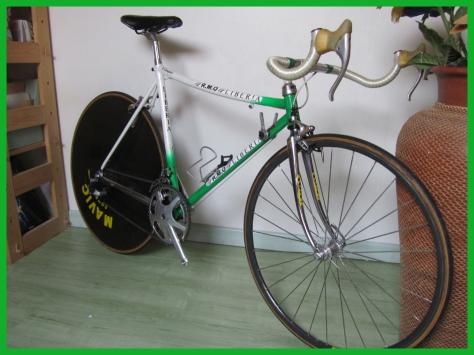 LIberia_RMO_pignon_fixe_course_velo_vintage_Tour_de_france_1991_chalie Mottet_Mavic_451_BDP_630_840_870_640_SSC_roue_look_no_pedal