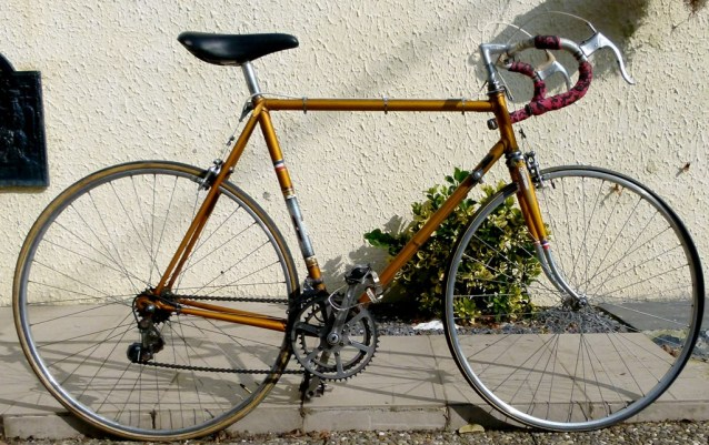 Velo Liberia Grenoble old bike fixie made in france bycyclette 1