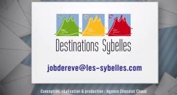 Job de reve miss sybelle gestionnaire de communauté community manager Destination Sybelles