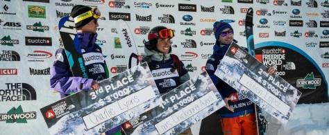 Julien LOPEZ pro freeskier champion 2nd Freeride World tour 2013 Kirkwood US etape results Lyons Ayers