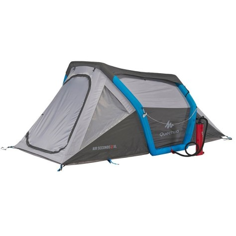 Tente-gonflable-inflatable-tent-tienda-zelt-Quechua-Decathlon-air-Seconds-2-camping-2-personnes