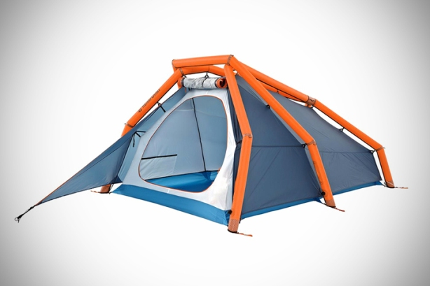 Heimplanet's New Inflatable gonflableTwo-Person Tent Pops Up in a Snap  - Sustainable Design Innovation, Eco Architecture, Green Building, ecologique, chanvre , popup, msh quechua 2