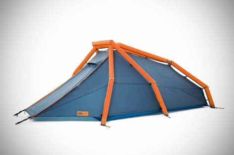 Heimplanet's New Inflatable gonflableTwo-Person Tent Pops Up in a Snap  - Sustainable Design Innovation, Eco Architecture, Green Building, ecologique, chanvre , popup, msh quechua
