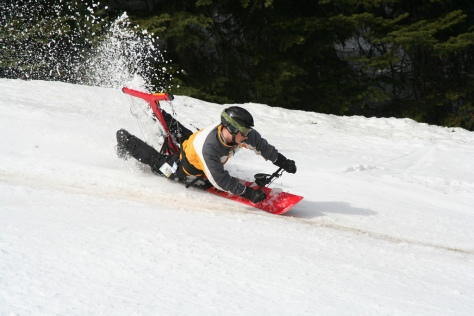 hangboard snow hang board snowboard allongé couché canada