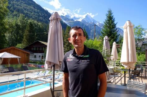 UTMB Ultra trail du Mont Blanc 2013 Miguel Herras Salomon Spain