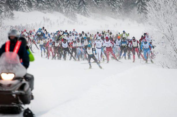 Xavier thevenard utmb 2013 victoire resultat record mont blanc ski de fond nordique transjurasienne xavier thevenard devant