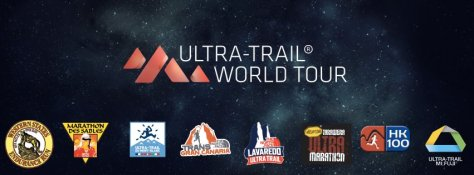 Ultra Trail World tour UTMB Gran CAnaria North face Lavaredo logo