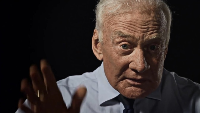 Buzz Aldrin presents the new North Face mountain video
