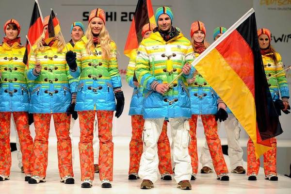 Sochi winter  Olympics  2014 Germany german team official jacket uniform