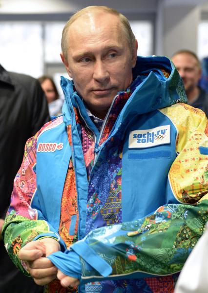 Vladimir-Putin-Poutine-Sochi-Olympics- Olympic-Games-Volunteer-jacket-manteau