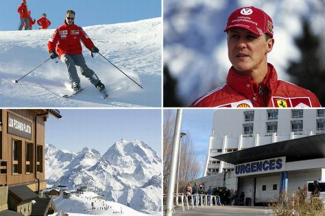 michael-mickael-schumascher-shumacher-accident-méribel-trois vallées-alpes-grenoble-hospital-urgency-urgences