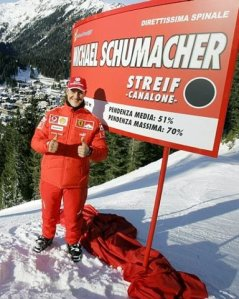 schumacher-ski-tracks-head-helmet- accident-coma-alps-off-piste-méribel
