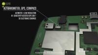 Altimetre GPS barometre Quechua phone mobile composants components hardware archos