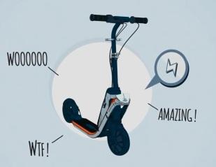 Klik Klick Clic trotinette scooter électrique oxelo