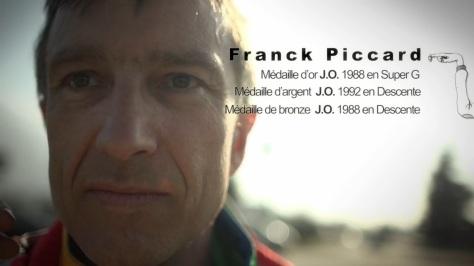 Franck Piccard 2014 Olympique Albertville Flamme
