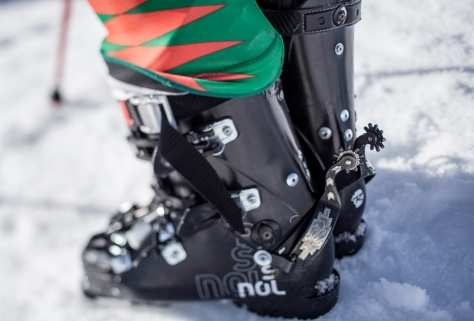rancho ep2 ski descente rossignol enak gavagio championnat france 65 au patin Cowboy bottes