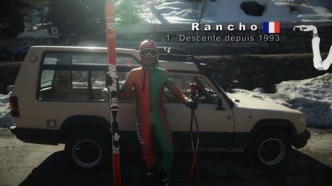 rancho ep2 ski descente rossignol enak gavagio championnat france 65 au patin Franck Piccard Poisson Clarey