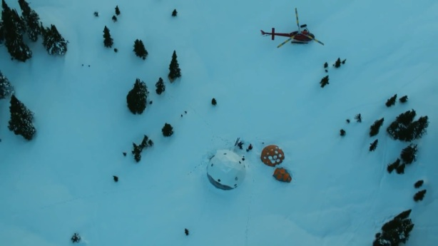 Days of my youth ski video Redbull Mountain Hardwear tent expedition Helicopter