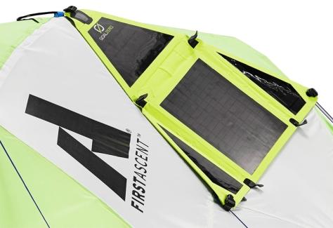 Eddie Bauer Power Katabatic solar panel goal zero sherpa 50 outdoor