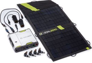 Goal-Zero-Solar-battery-chargers-Sherpa 50 tent panel inverter