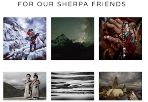 Sherpa fund avalanche fundings fondation everest photagraphes photos