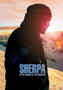 Sherpa, in the shadow of mountain