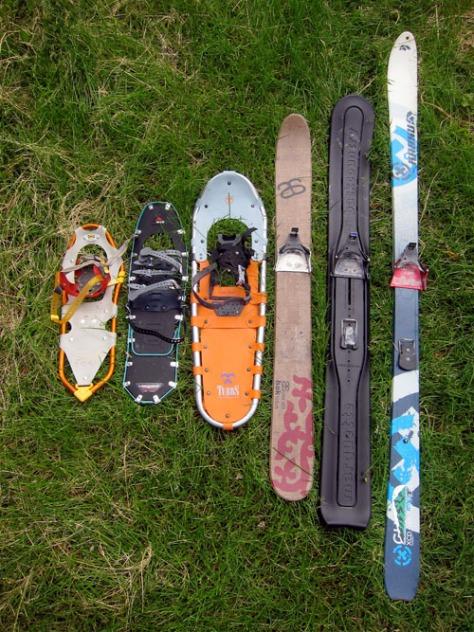 altai-hok-ski-x-trace-universal-binding-snowshoe-ski