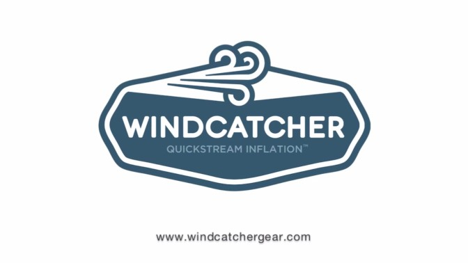 Windcatcher Air pad 2, le matelas de camping qui se gonfle en 1 coup de vent