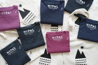 HOPALL-Tshirt-recycle-made-in-fabriqué-france-mountain-wilderness-