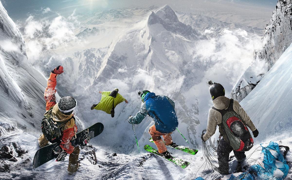 Steep, le jeu vidéo ski / snow / wingsuit développé à Ubisoft Annecy